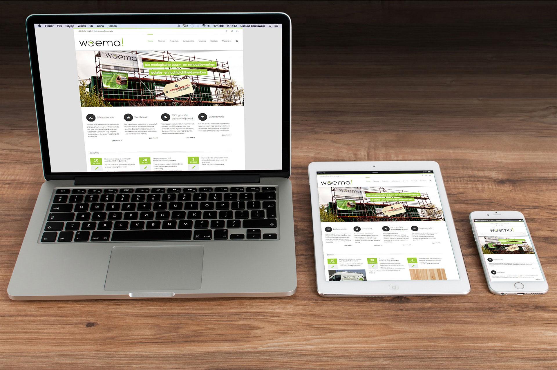Boulevard43 Woema! responsive webdesign