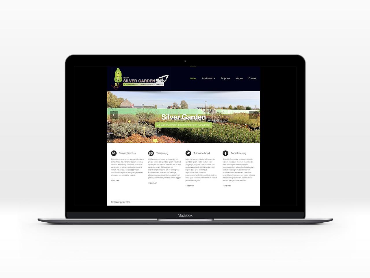 website Silver Garden